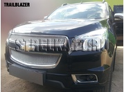 CHEVROLET Защита радиатора Premium для CHEVROLET TRAILBLAZER II с 2012 г.в.(Хром)