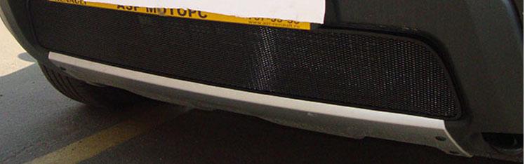 Сетка для защиты радиатора рено дастер своими руками